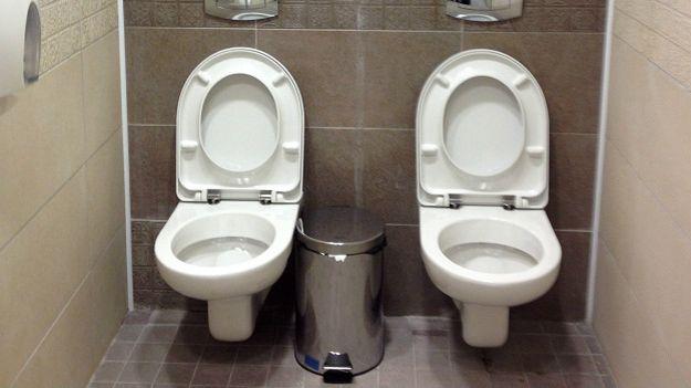 Туалет на два унитаза в олимпийском Сочи
