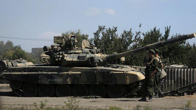 Российские солдаты в Ростовской области