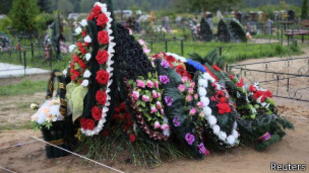 Кладбище в Выбутах