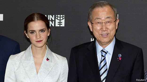 Emma Watson, Ban Ki-moon