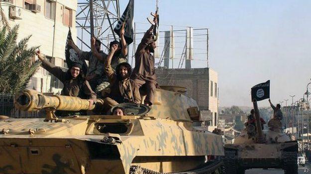 """Боевики """"ИГ"""" в Сирии"""