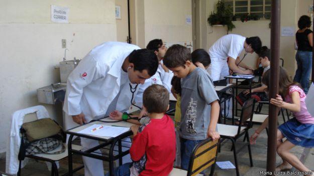 Projeto Saúde em 2008 | Foto: Maria Luiza Baldassaris