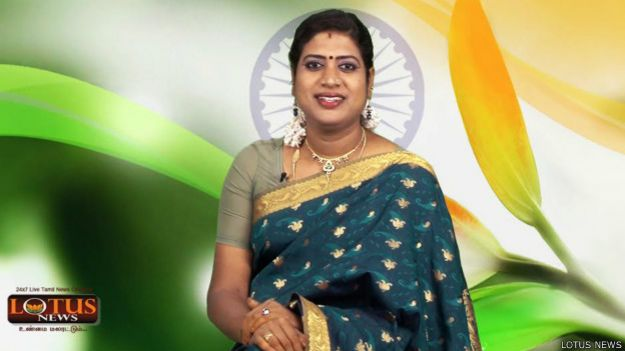 Padmini Prakash (Crédito: Lotus TV)