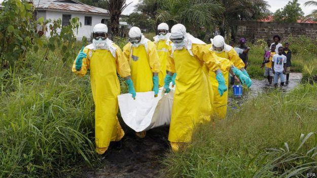 Ebola na Libéria (EPA)