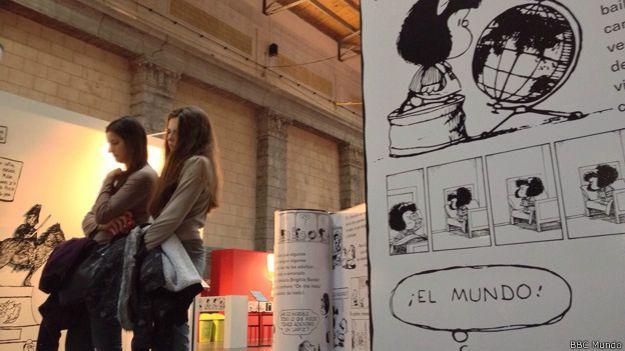 Exposición de Mafalda