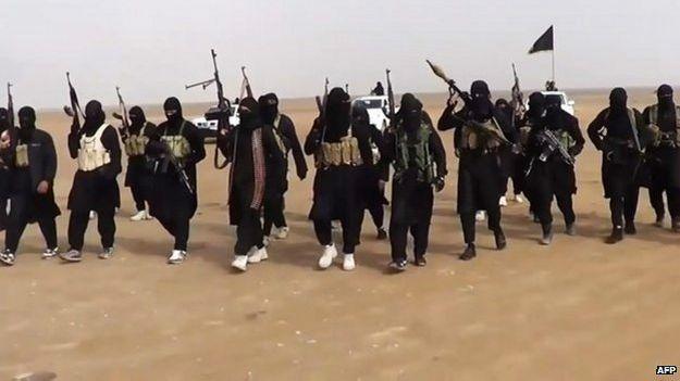 Militantes Estado Islamico