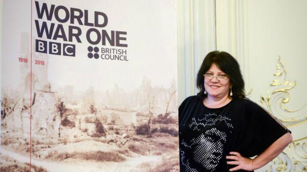 Писательница Татьяна Толстая, Санкт-Петербург, 9 октября 2014 г.