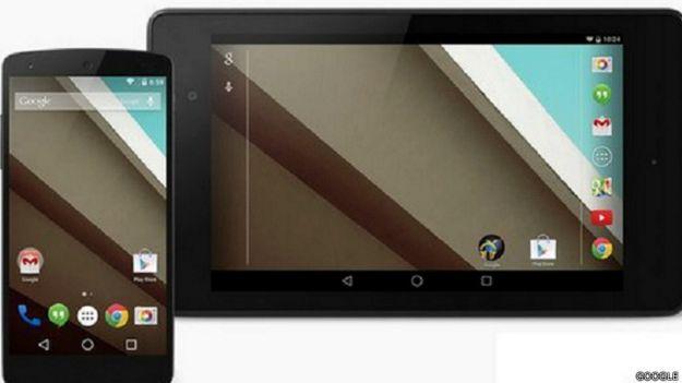 Android Lollipop de Google