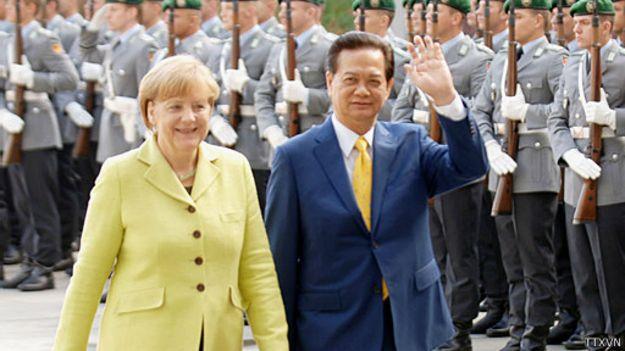 Ông Nguyễn Tấn Dũng thăm Đức