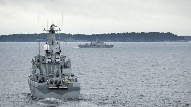Submarino ruso intruso