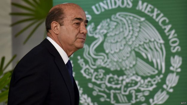 Procurador de México, Jesús Murillo Karam. Foto: AFP