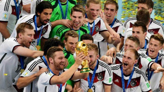 Alemanha campeã mundial em 2014 / Crédito: AP