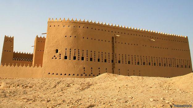 El palacio Saab ibn Saud
