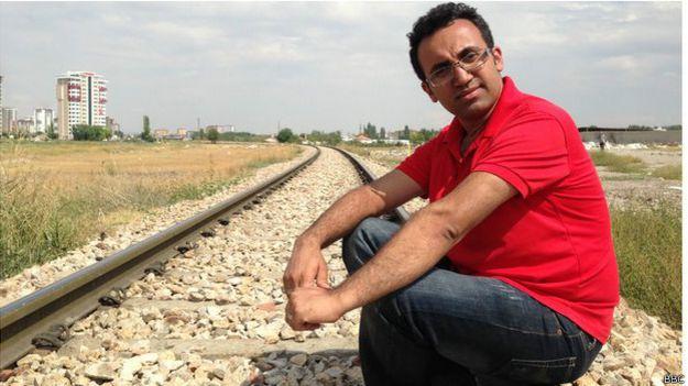 Arsham Parsi (BBC)