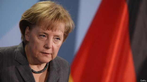 Германский канцлер Ангела Меркель