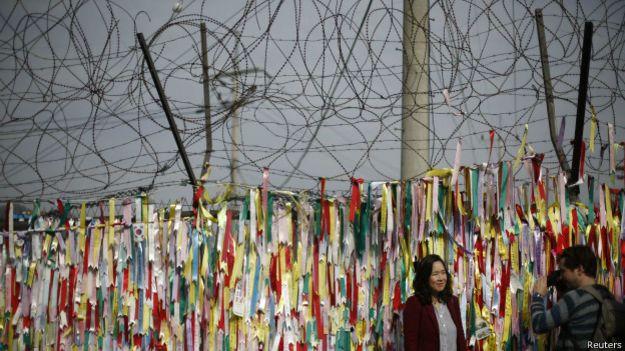 Стена между Северной и Южной Кореей