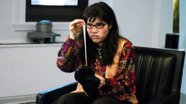 "America Ferrera fue ""Ugly Betty""."