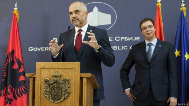 Эди Рама и Александр Вучич