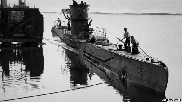 Submarinos durante la Segunda Guerra Mundial.