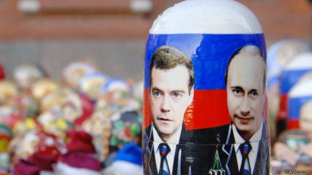 Сувениры с Путиным