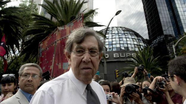 Cuauhtémoc Cárdenas, fundador del PRD. Foto: AFP/Getty