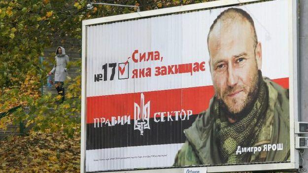 "плакат ""Правого сектора"""