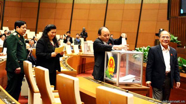 Bỏ phiếu tín nhiệm Quốc hội VN