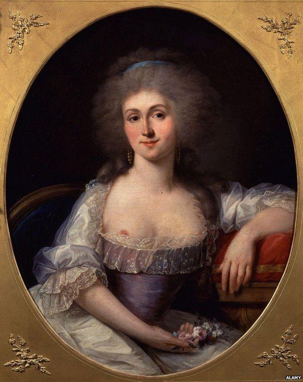 Портрет принцессы де Ламбаль