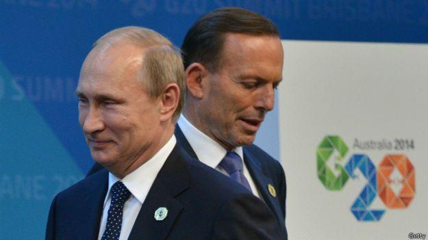 Путин и Эбботт