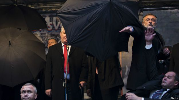 Земан за зонтиками