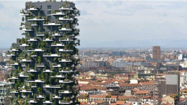 Prédio em Milão