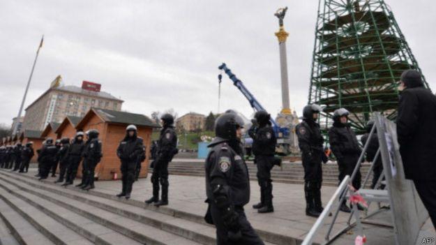 Йолка на Майдані