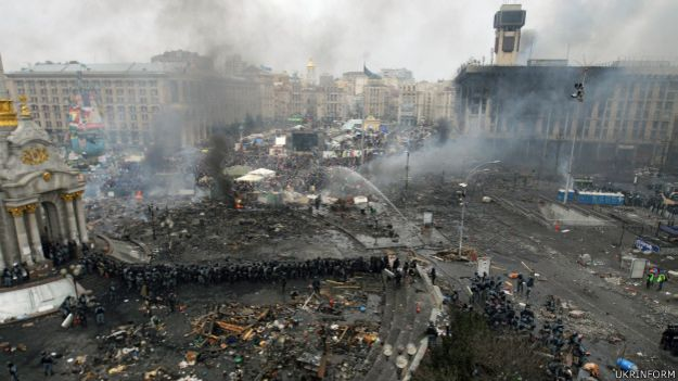 Майдан Незалежності лютий 2014