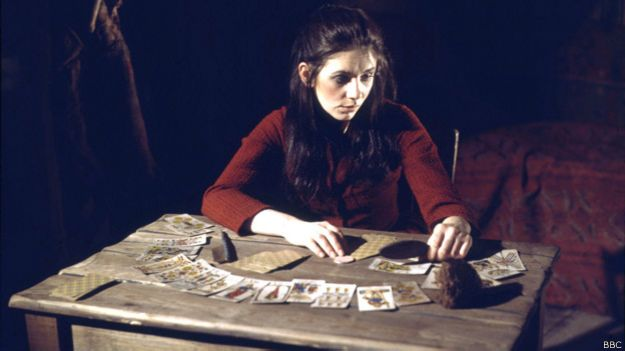"""Eve Belton como Marya en la adaptación de """"Demonios"""" de la BBC de 1969."""
