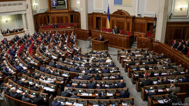 Зал пленарных заседаний Верховной Рады Украины
