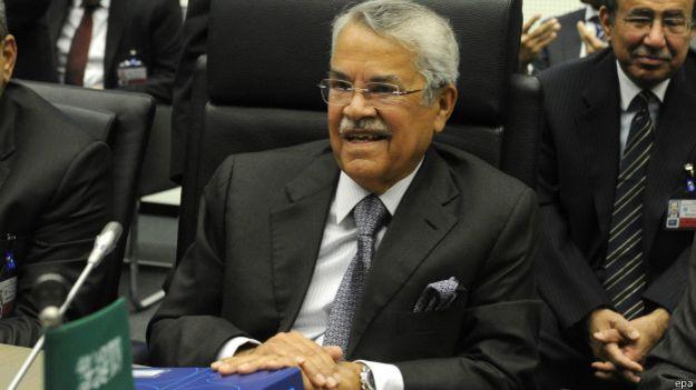 ministro petrolero de arabia