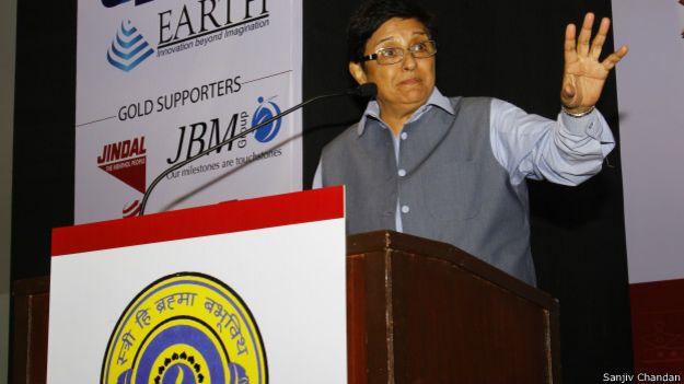 किरण बेदी, विश्व हिन्दू कांग्रेस, दिल्ली