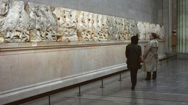 Мраморные фрески Парфенона