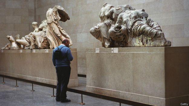 Скульптуры Парфенона