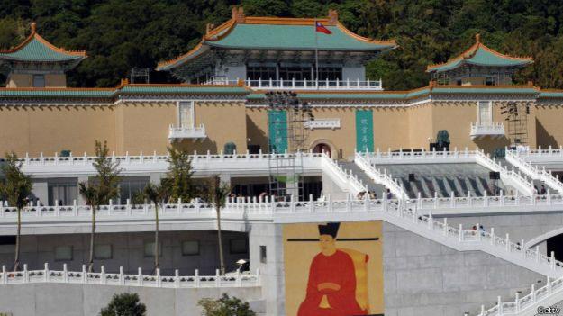 Музею императорского дворца в столице Тайваня Тайпее