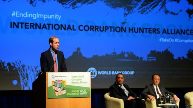 Речь принца Уильяма на конференции Всемирного банка