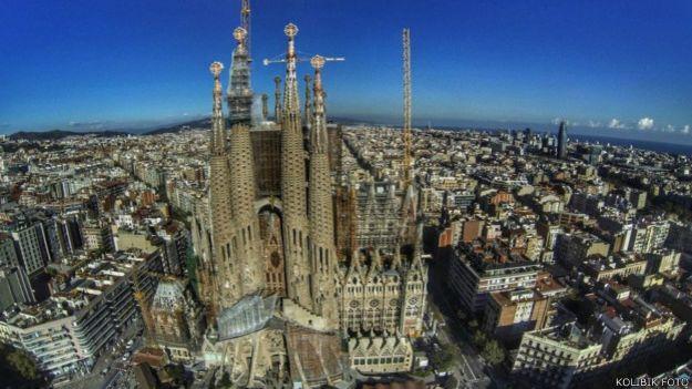 Sagrada Familia, Barcelona, España.