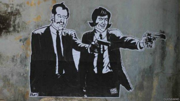 Grafiti en India