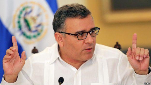 El presidente Funes