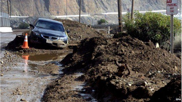 Inundaciones en California
