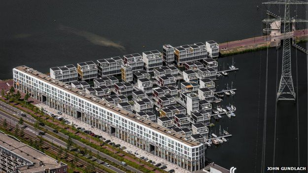 Diseño de apartamentos flotantes