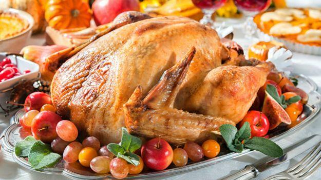 Запеченая индейка к Дню благодарения