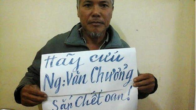 Bố của tử tù Nguyễn Văn Chưởng