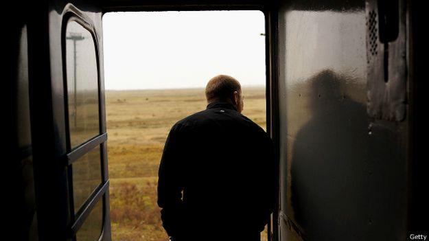 Пассажир поезда под Симферополем