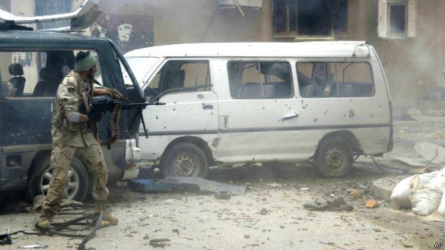 Солдат в Триполи